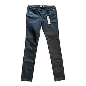Noisy May Eve Coated Knee Cut Skinny Jeans Size 29